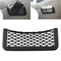 Car Net Bag Car Organizer Nets 20X8cm Automotive Pockets With Adhesive Visor Car Syling Bag Storage for tools Mobile phone