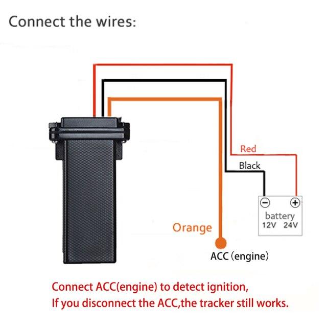 Mini Waterproof Builtin Battery GSM GPS Tracker 3