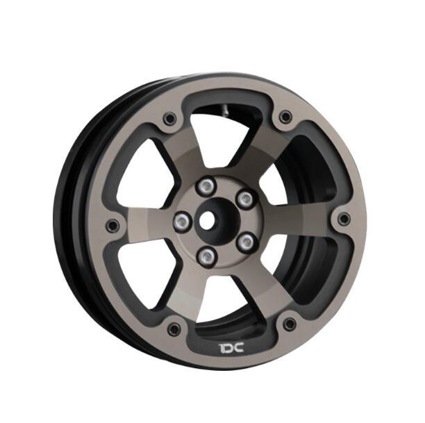 Livraison gratuite 2 pcs 1/10 échelle RC roue sur chenilles 2.2 pouces 2.2