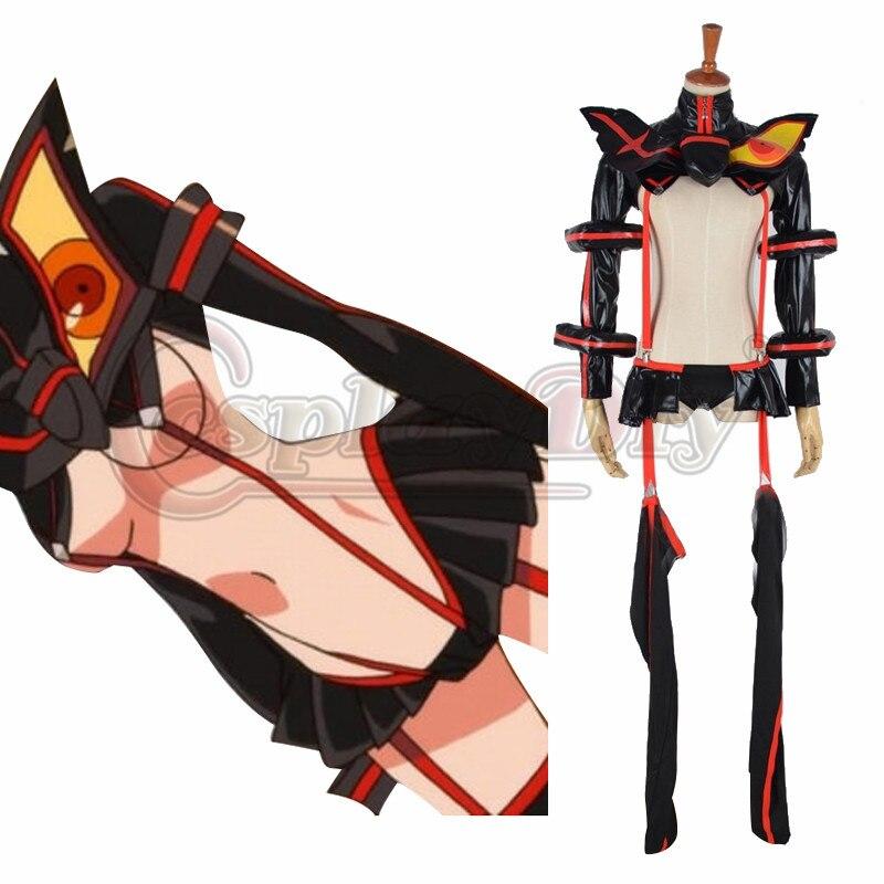 Fait sur commande Kill Kill la Ryuko Matoi Cosplay Cosplay Adulte Filles Halloween  Anime Fantaisie Costume d3cd2f9aa23f