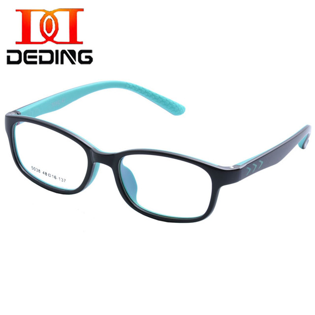 DEDING дети TR90 кремния рамка Разноцветные очки для Детей высокого качества дети кадры armacao de óculos infantil DD1387