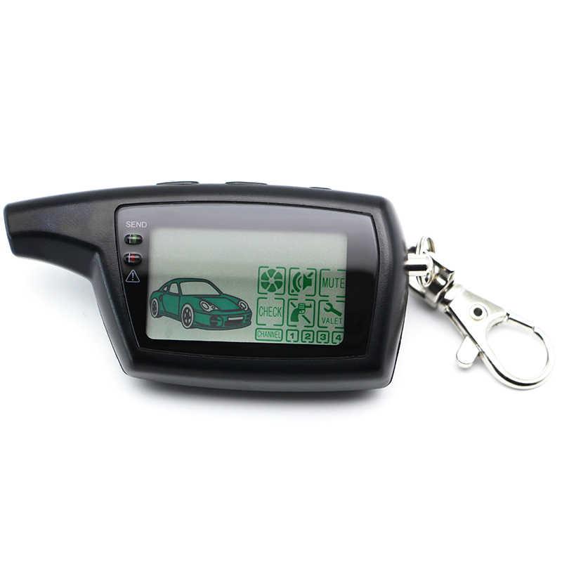 Пульт дистанционного управления DXL 3000 с ЖК-дисплеем, брелок-цепочка, брелок для российской версии автомобильной сигнализации PANDORA DXL3000