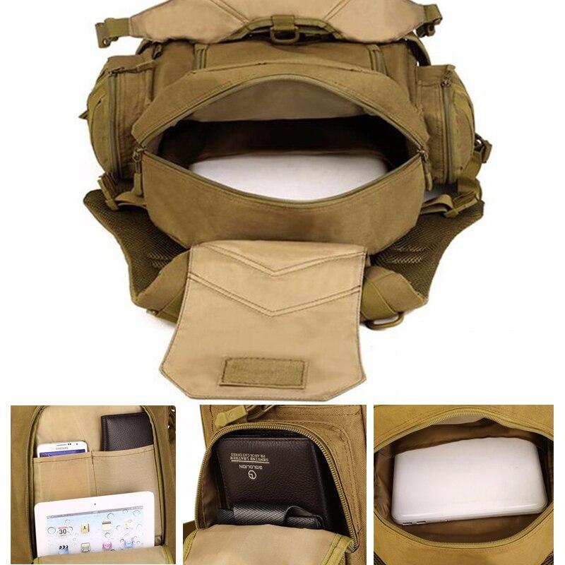 Extérieur chaud 2 Set militaire tactique sacs à dos Camping sacs alpinisme sac hommes randonnée sac à dos voyage sac à dos + taille Pack - 5