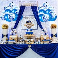 20 шт. синие шары принадлежности для дня рождения свадьбы прозрачный воздушный шар «Конфетти» красный день рождения украшения взрослых детей латексный шар