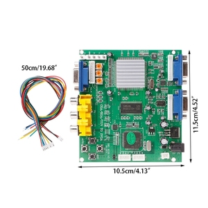 Image 5 - Arcade Game RGB/CGA/EGA/YUV To Dual VGA HD Video Converter Adapter Board GBS 8220