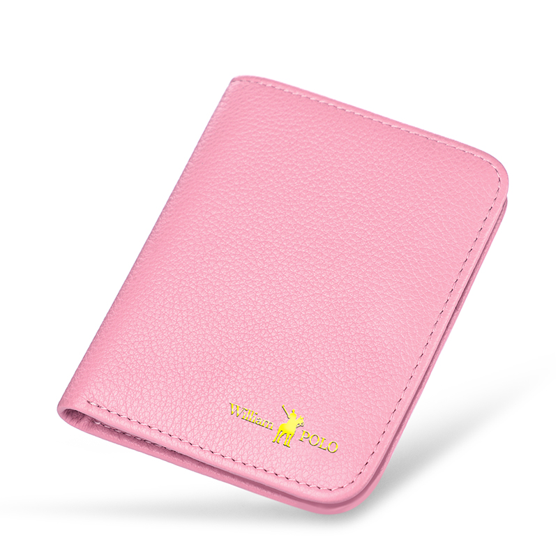 Williampolo 2019 Fashion Genuine Leather Women Wallets Ultra Thin Mini Small Coin Female Purse Compact cow Leather Short Wallet