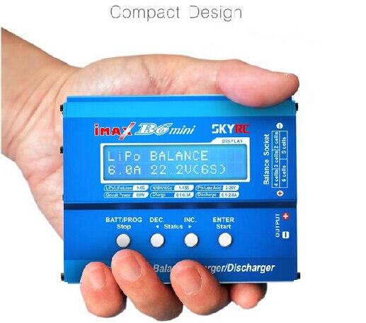 Original SKYRC B6 Mini 1-6S 6A Multi-function Balance Charger (imax B6 mini) imax b6 twins