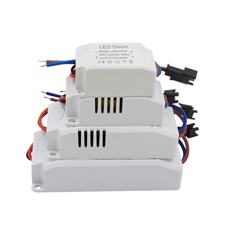 1-36*1W AC85-265V LED Constant Driver 3W 6W 9W 12W 18W 24W 36W 300mA Power Supply Light Transformers for LED Downlight Lighting water resistance 19 24w led constant current source power supply driver 90 265v