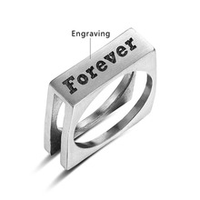 Personalized Stainless Steel Ring For Women and Men
