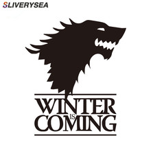 SLIVERYSEA WINIER COMING Car Sticker Automobiles Window Bumper Reflective Decals Auto Decoration Accessories