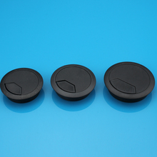 Plastic wire hole cover your desktop threading box threading box computer desk thread hole diameter 50mm(China (Mainland))