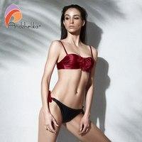 Andzhelika Bikini Women 2018 Summer New Sexy Big Floral Swimsuit Push Up Swimwear Brazilian Bikini Set