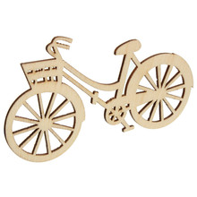 Free shipping, wholesale high quality  bicycle die cutting wood Angle DIY scrapbook 88mm*48mm 50pcs 017001048