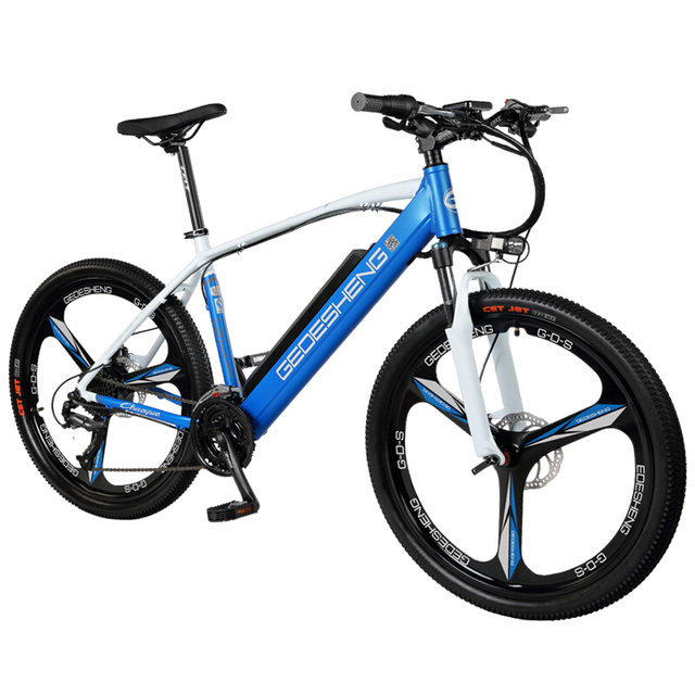 26inch electric bicycle 27speed variable speed  48V lithium battery 240W motor PAS Rane 60km Rear wheel drive  MTB E-bike