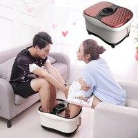 Многофункциональный Полностью автоматический Электрический ролика ноги Отопление ванна для ног машина массаж ног Spa Массажер для ванны