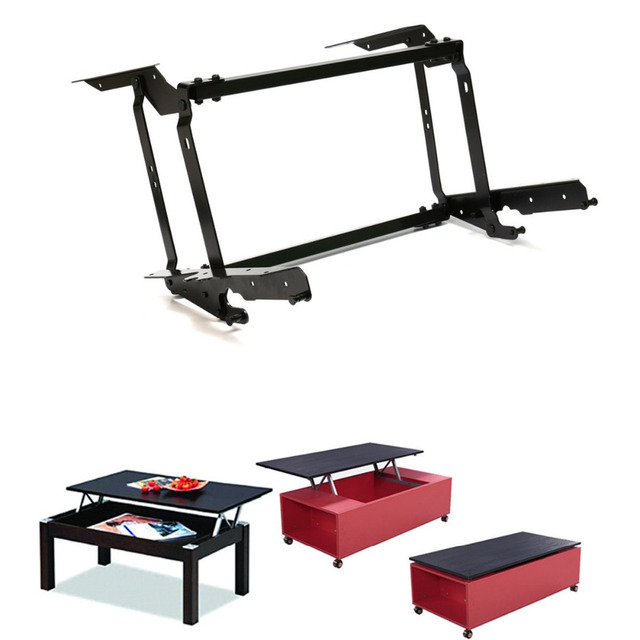 Lift Up Top Coffee Table Diy Hardware Fitting Furniture Mechanism Hinge Spring Free Shipping In