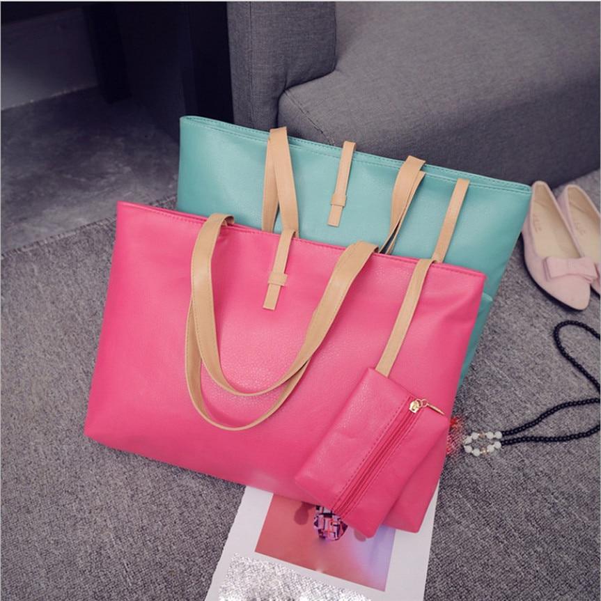 Bolsos Mujer Handbag Lady Shoulder Bag Tote Purse Women Messenger Hobo Crossbody Bag Casual #30 Gift