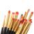 Pro 20 Pcs Pincéis de Maquiagem Cores de Ouro Branco Definir Pó Fundação Sombra Delineador Lip Brush Tool