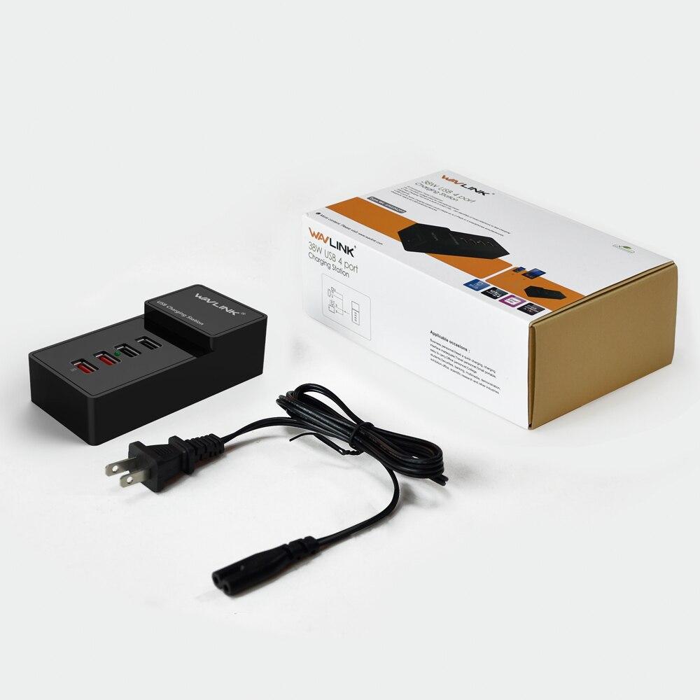 US plug 4 poort wandlader USB 3.0 laadstation met lichtnetadapter 2 - Computerrandapparatuur - Foto 6
