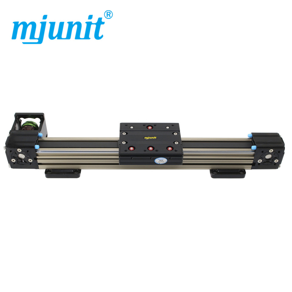 Mjunit 45N 15 kg rail de guidage linéaire pour module de table coulissante CNC rail de guidage pour équipement de détection de distribution de profil en alliage d'aluminium