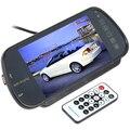 Brand New Brand New Super 7 Polegada TFT LCD Tela Colorida Assistência de Estacionamento Retrovisor do carro Monitor Espelho Popular Suporte SD/USB