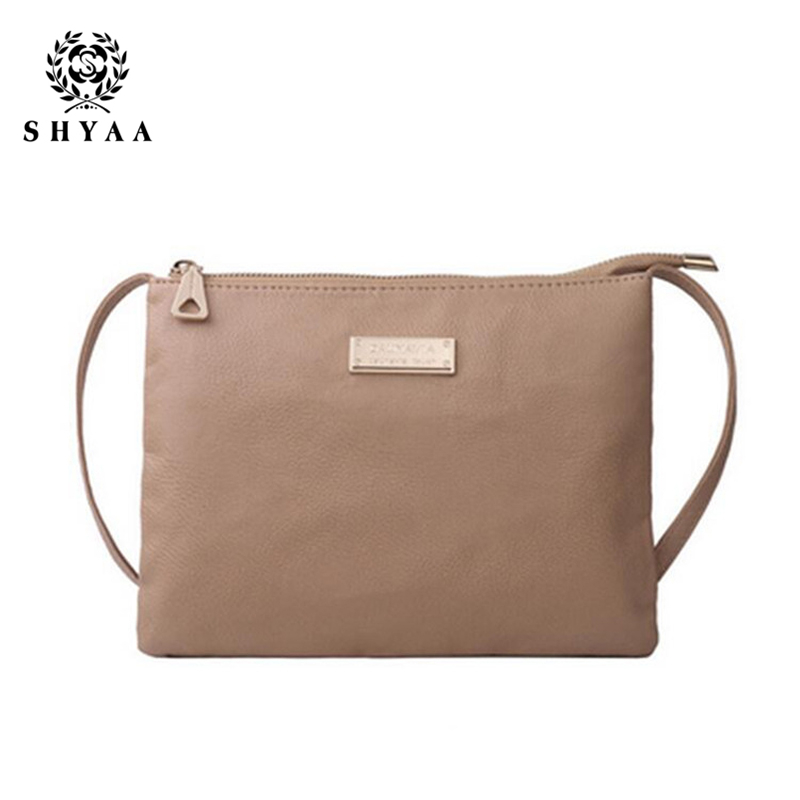 SHYAA 2017 Hot Selling Mini Women Bag Fashion Handbags For Lady Women PU Leather Shoulder Bags Women Messenger Bags