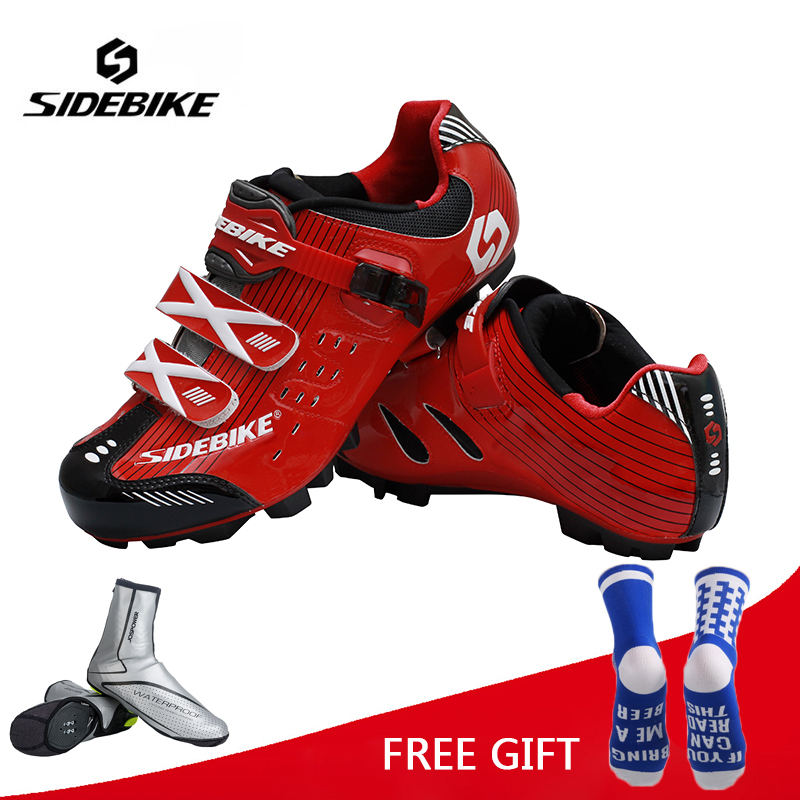 Sidebike MTB Cycling Shoes Pro Men Women Breathable Bike Shoes Bicycle Self-Locking Athletic Racing Shoes Zapatillas Ciclismo sidebike men women breathable athletic cycling shoes bicycle outdoor sports shoes road bike self locking racing shoes