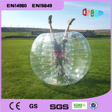 Free shipping, Amazing 1.2m inflatable human hamster ball,inflatable bumper ball,bubble football,bubble soccer