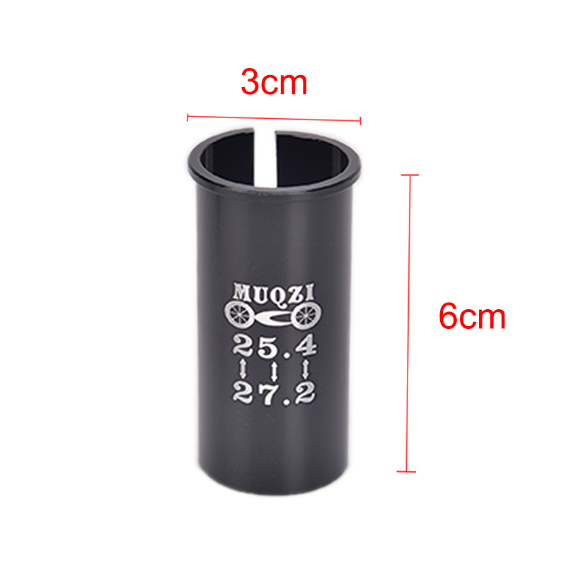 27.2 TO 25.4 BICYCLE SEAT POST ADAPTER//REDUCER SHIM