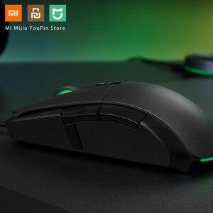 Image 5 - Oryginalna mysz bezprzewodowa Xiaomi USB 2.4GHz 7200DPI RGB podświetlenie mysz optyczna do komputera
