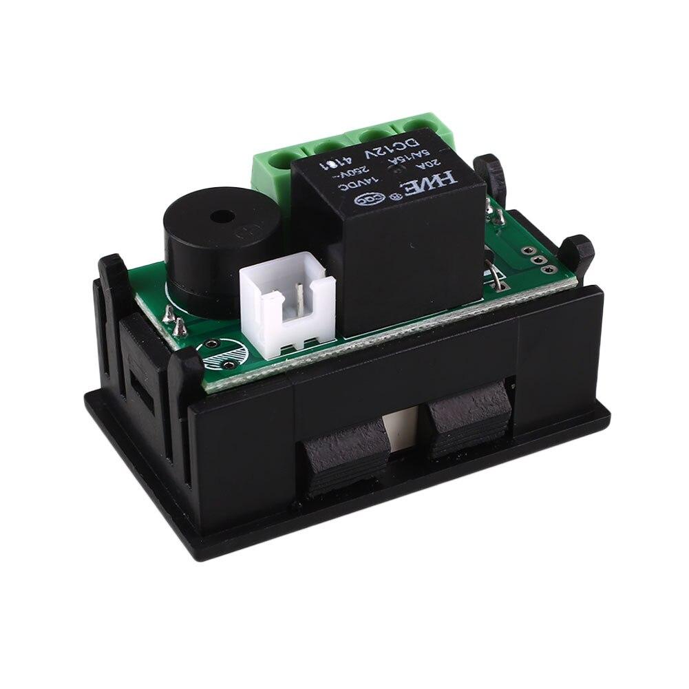 DC12V 20A Controlador digital de temperatura DIY Inteligente Mini - Instrumentos de medición - foto 3