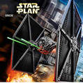 2017 Nueva LEPIN 05036 1685 Unids TIE Fighter Kits de Edificio Modelo de Star Wars Darth Vader Mini Bloques Ladrillos Compatibles Juguete 75095