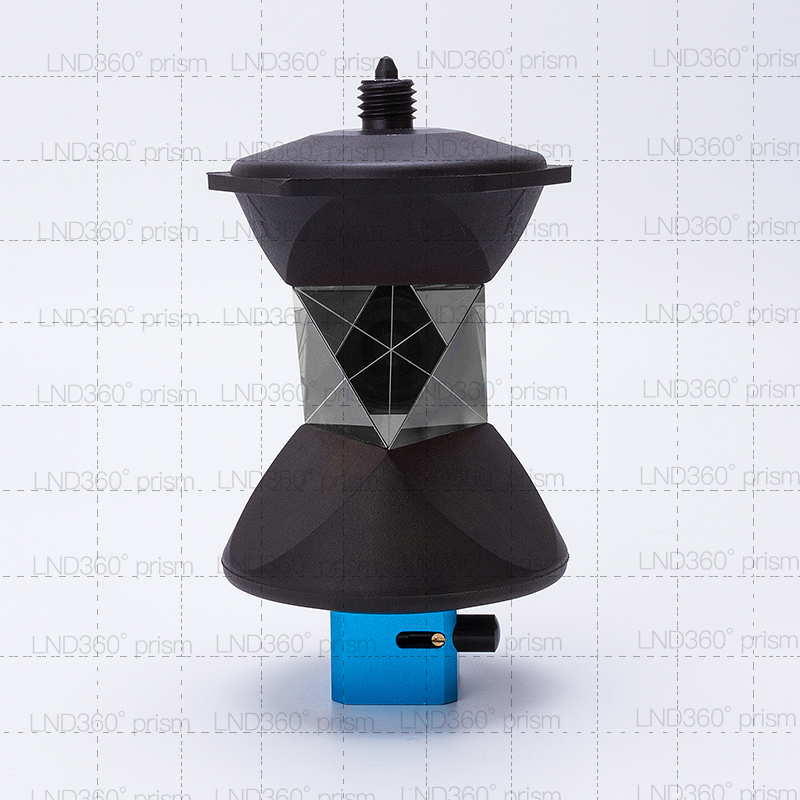 NEW Silver plated universal prismStyle 360 Degree Prism ATP1C Remodeled For Total Station