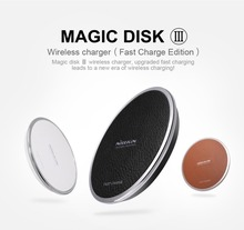 NILLKIN universal charger qi wireless fast charge for samsung s6 s7 edge for iphone 5s wireless charger Device quick charge 3.0