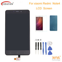 NEW LCD Display Digitizer Touch Screen Assembly For Xiaomi Redmi Note 4 Cellphone With Free Tools