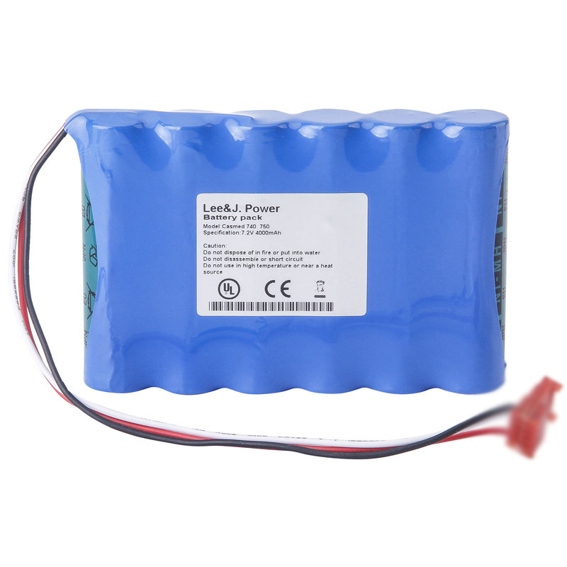 4000mAh New Electrocardiogram machine battery for CASMED 740 750 940X electrocardiogram generator for academic