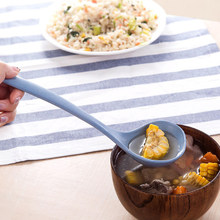 Wheat Straw Long Handle Spoon Eco-friendly Soup Spoon Porridge Kitchen Tableware Meal Dinner Spoons Cooking Gadget(China)