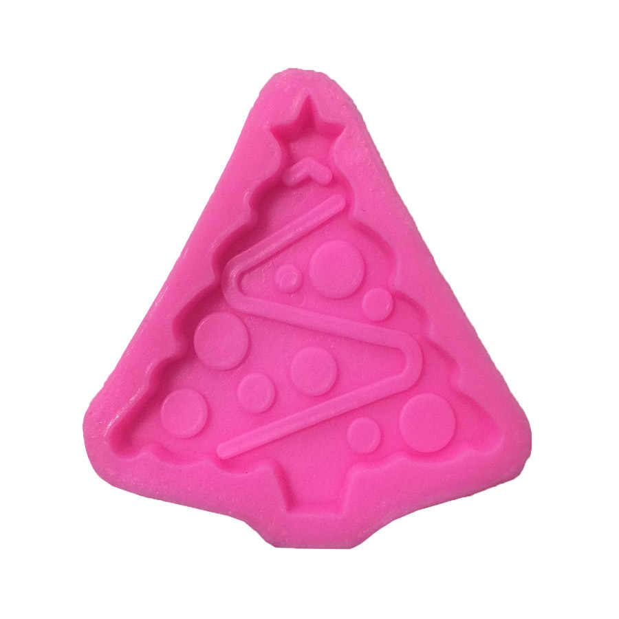 Navidad árbol Navidad silicona moldes de pastel no-Stick fondant de azúcar Gelatina gelatina hielo de moldes de accesorios de cocina herramientas