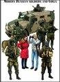 1/35 масштаб модели русских солдат в украине комплект рисунок смола модель для сборки бесплатная доставка