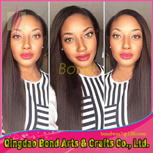Stock! Virgin Brazilian full lace Wigs 100% Unprocessed wavy Human Hair Wigs 130% Density Natural Color Fast shipping