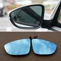 Ipoboo 2 шт. новые мощные с подогревом w/поворотные боковые зеркальные синие очки для Volkswagen Scirocco