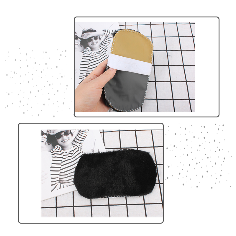 CARRYWON Shoes Cleaner Shoes Care Brush Soft Wool Plush Shoe Gloves Wipe Shoes Handbag Mitt Suede Clean Tools For Household in Scrubbing Gloves from Home Garden