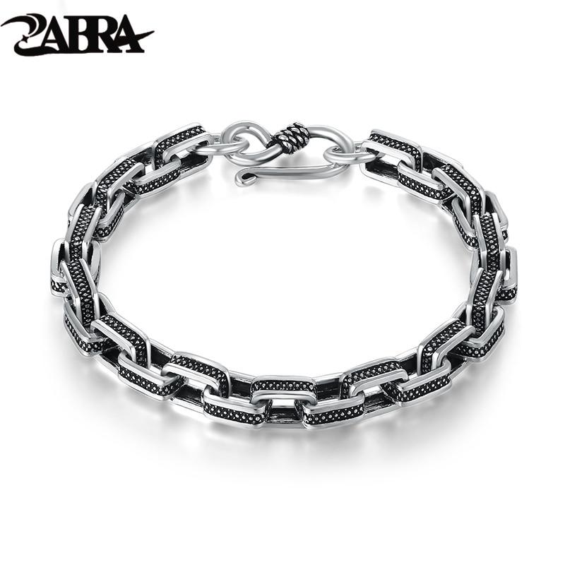 Женские браслеты из черного серебра