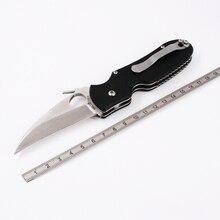Brother 1606 katlanır bıçak Yüksek kaliteli Savaş Cep bıçaklar taktiksel hayatta kalma aracı klasör bıçağı G10 440C çelik EDC Koleksiyonu