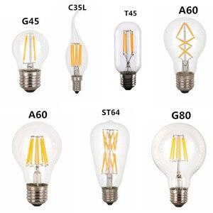 LED T45 ST64 G80 A60 C35 Light