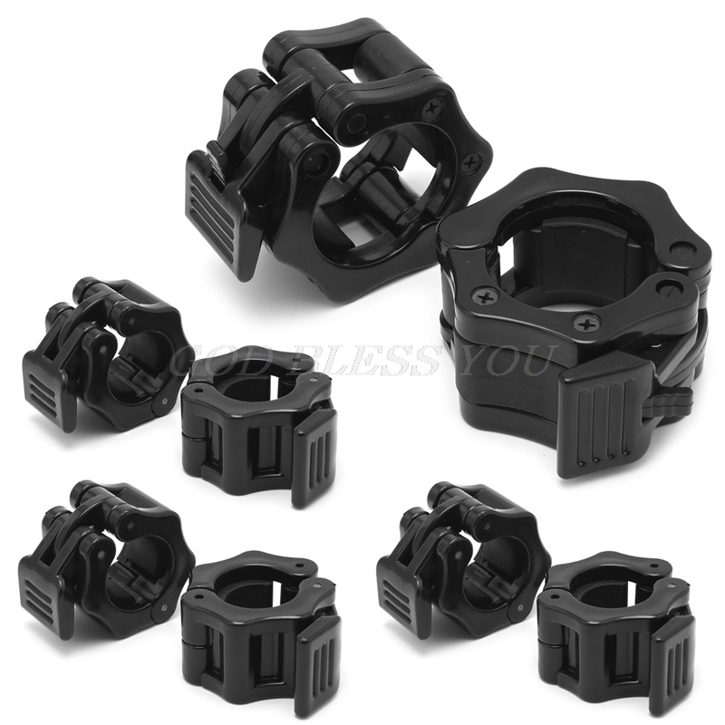2Pcs Dumbbell Barbell Collar Clips Clamp Gym Weight Lifting Fitness Training New 25mm/28mm/30mm/50mm