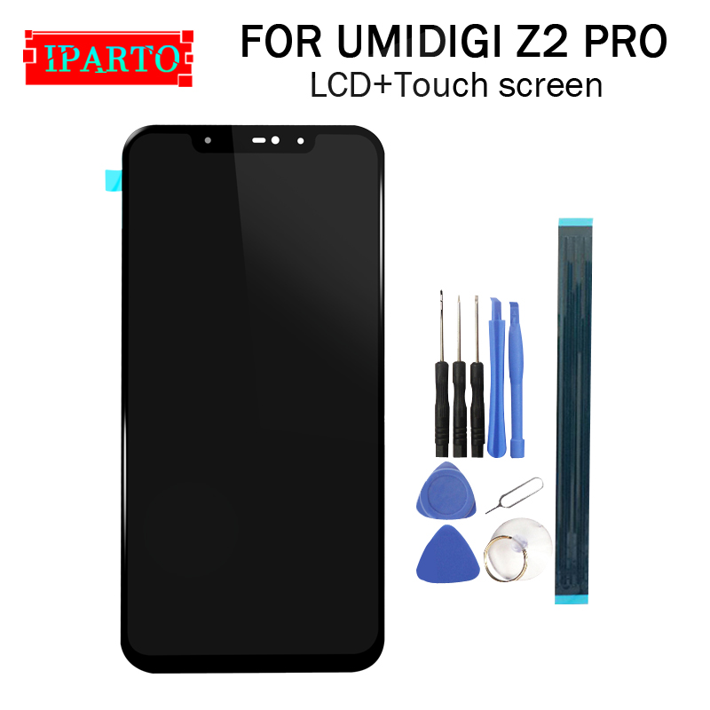 6 2 inch UMIDIGI Z2 PRO LCD Display Touch Screen Digitizer Assembly 100 Original New LCD