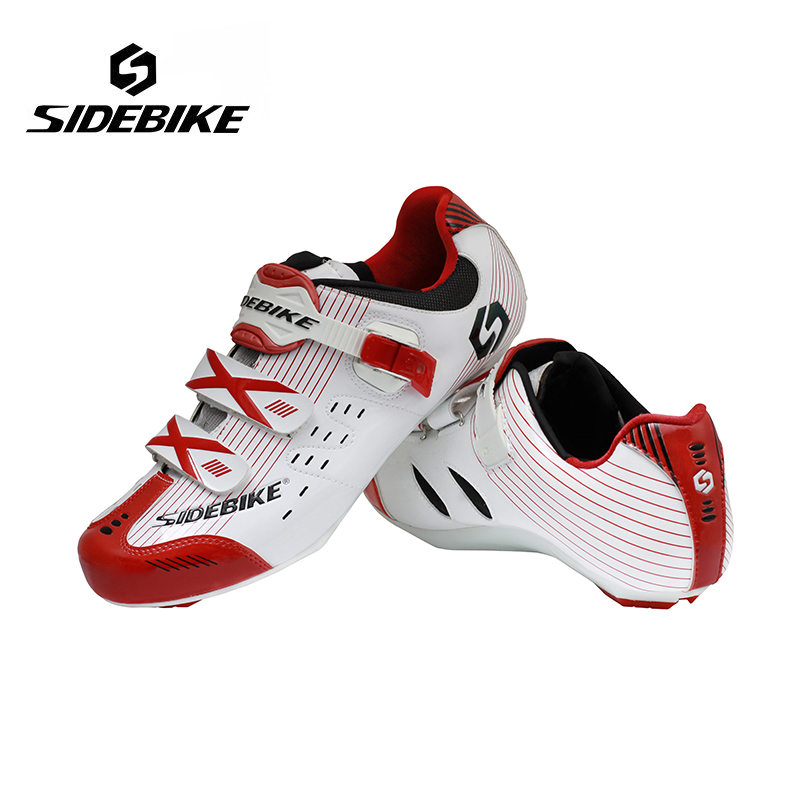 где купить Sidebike Road Bike Shoes Lightweight Highway Lock Cycling Shoes Road Bicycle Shoes Women Self-locking Ride Ciclismo Zapatos дешево