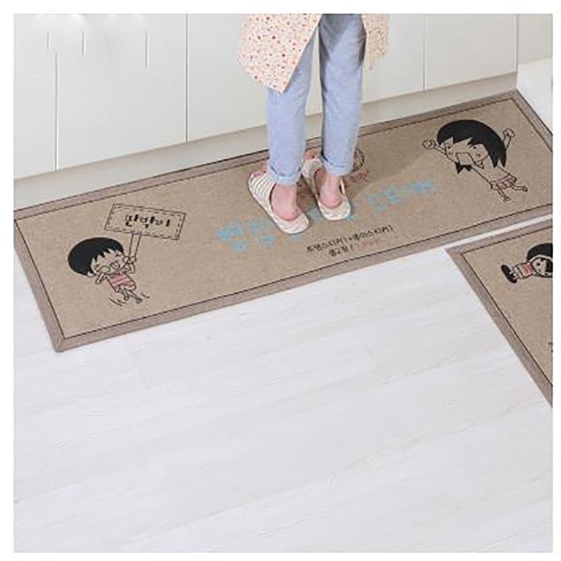 2 psc/set tapis moderne tapis de cuisine salle de bain tapis de toilette tapetes de sala paillassons tapis d'intérieur et tapis cuisine