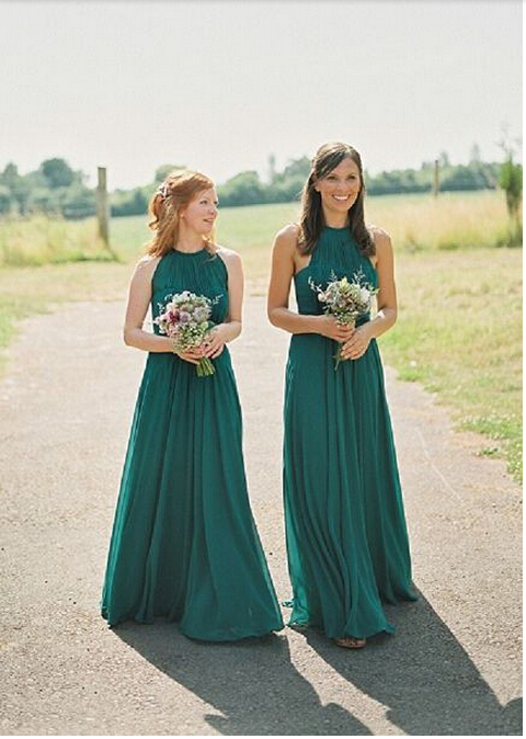 Online Get Cheap Hunter Green Bridesmaid Dress -Aliexpress.com ...